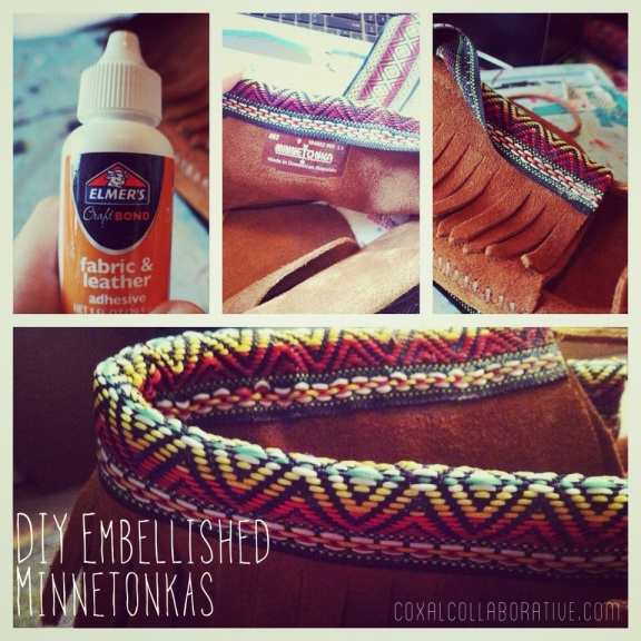 [Quick way to embellish your moccasins!]