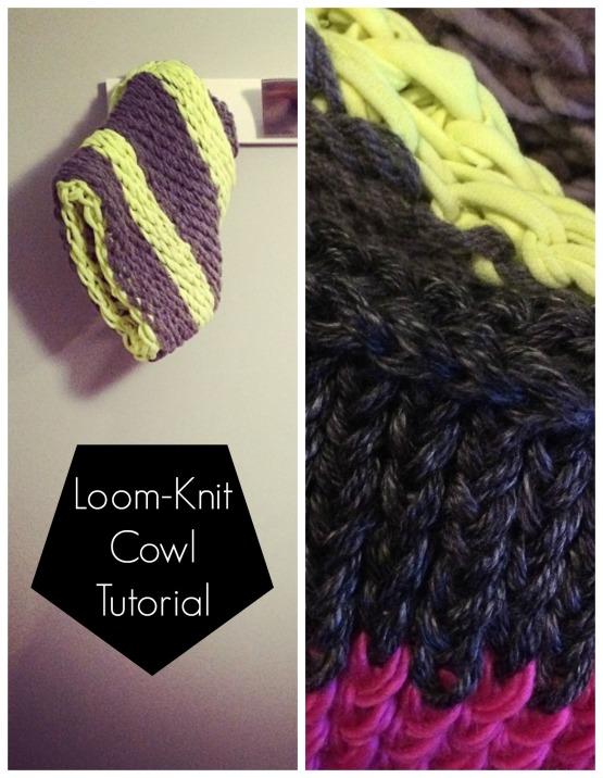 LOOM_KNIT_COWL_DIY